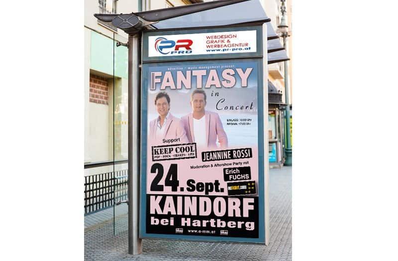 Litfa Säulen und City Lights - Werbeagentur PR-pro aus Fehring