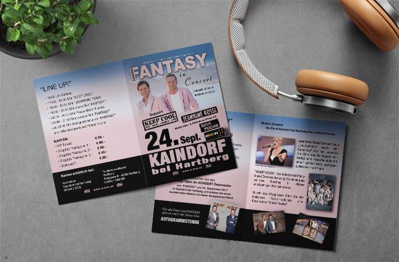 Flyerdesign der Werbeagentur PR-pro aus Fehring