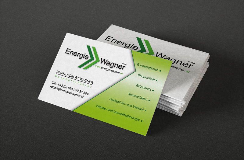 Werbeagentur aus Fehring gestaltet Corporate Design für Energie Wagner aus Ilz