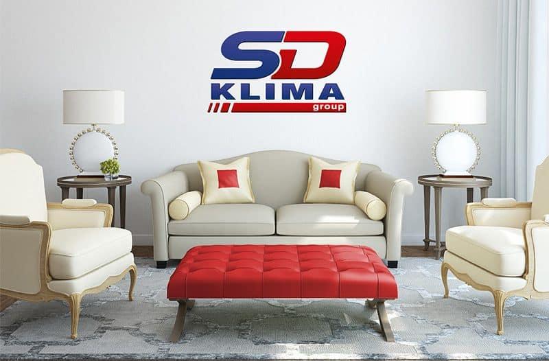 Logo gestaltung für die Firma SD-Klima in st-Margarethen